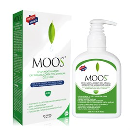 Moos Tea Tree & Black Cumin & Manuka Liquid Skin Cleanser 200 ML