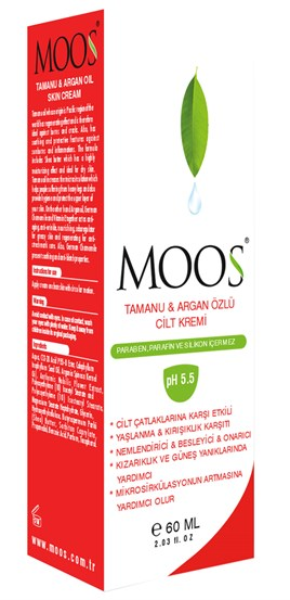 Moos Tamanu & Argan Oil Skin Cream 60 ML.